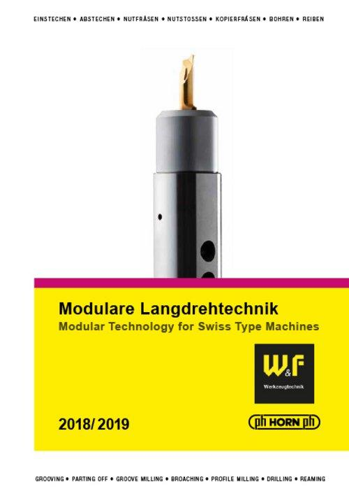 Modular Technology for Swiss Type Machines